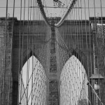 Brooklyn Bridge B&W 2